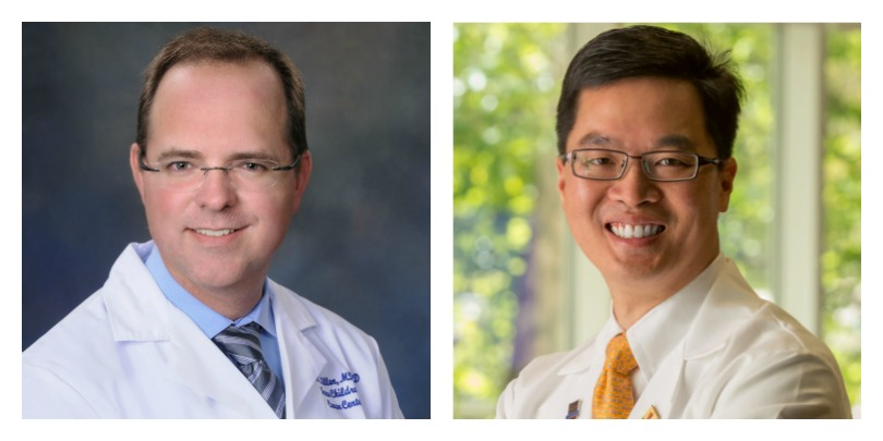 Dr. Carl Allen and Dr. Alex Huang