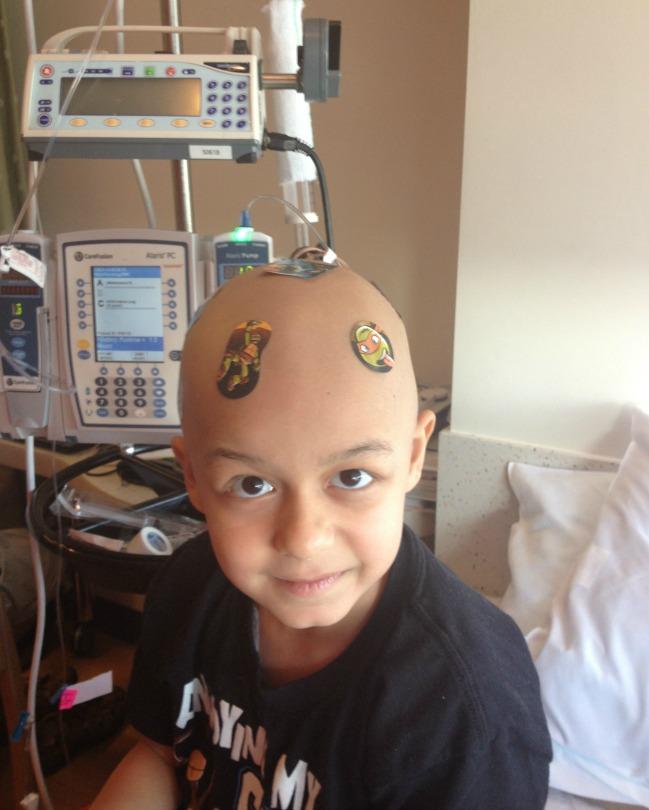 Zein goofs around at the hospital