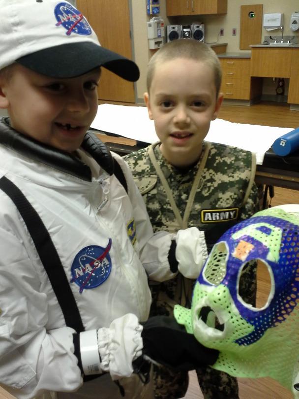 Ori rocks an astronaut costume to radiation