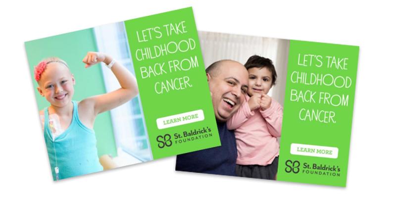 let's take childhood back from cancer