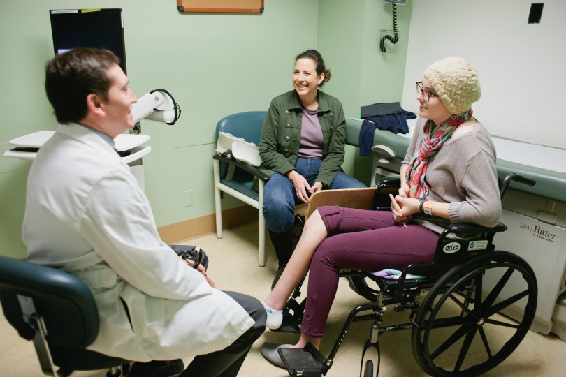 Dr. Noah Federman meets with Emily