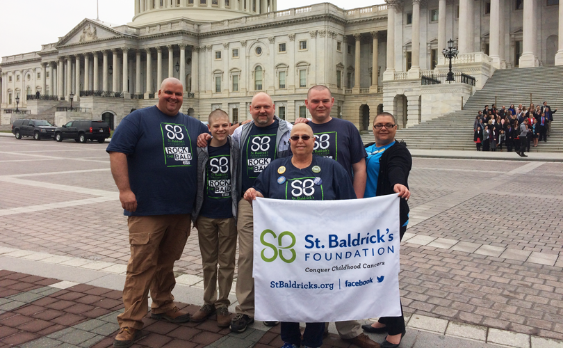 bald in the boro outside the capitol