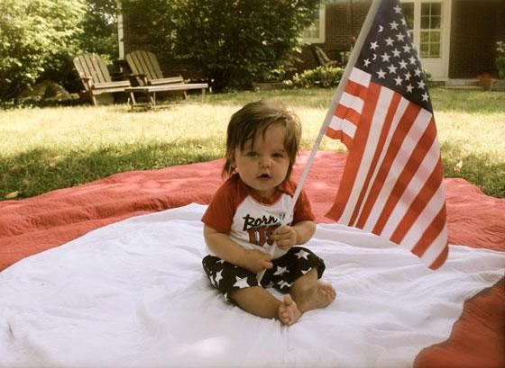 Luke American Flag