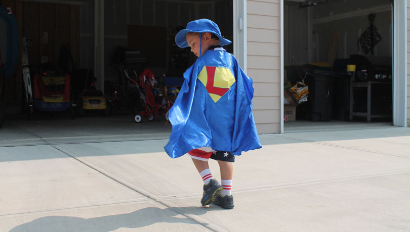 Luke Superhero Cape