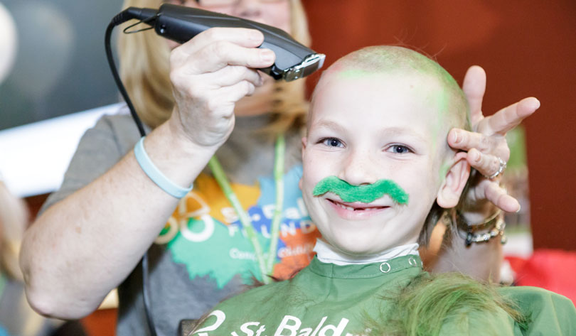 Spend your St. Patrick's Day at a St. Baldrick's event