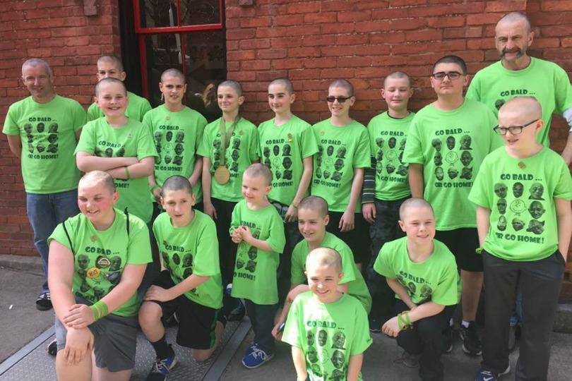 Team Baldacious Buddies in 2017