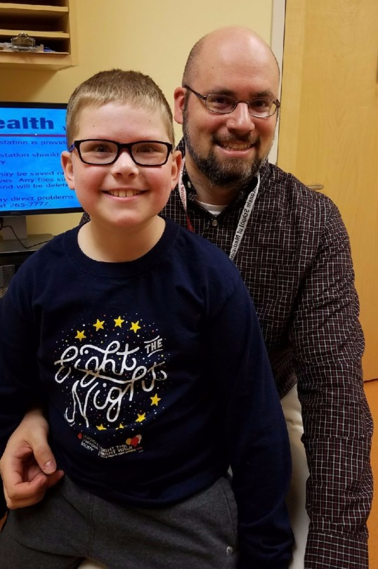 Austin and Dr. Christian Capitini