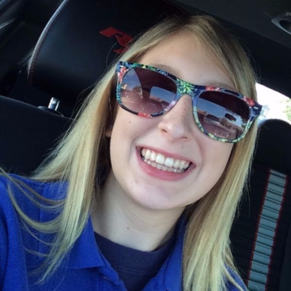 Alyssa takes a selfie
