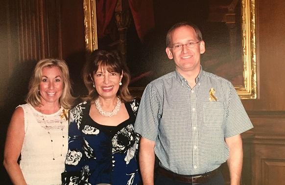 Robyn Raphael, Rep. Jackie Speier and Ron Rozman