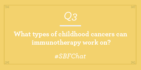 Twitter Chat Immunotherapy