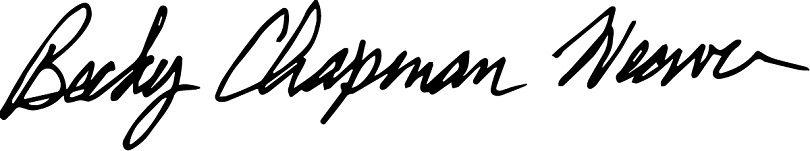 Becky's signature
