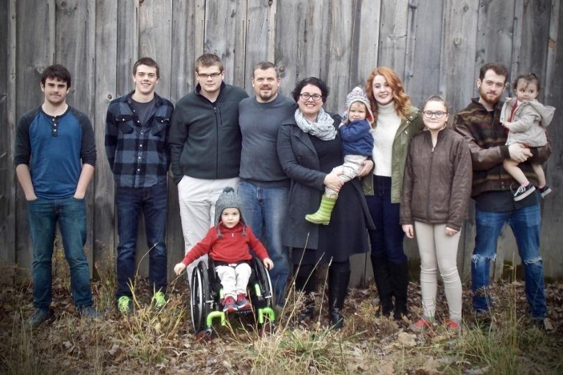 Kellan and his family