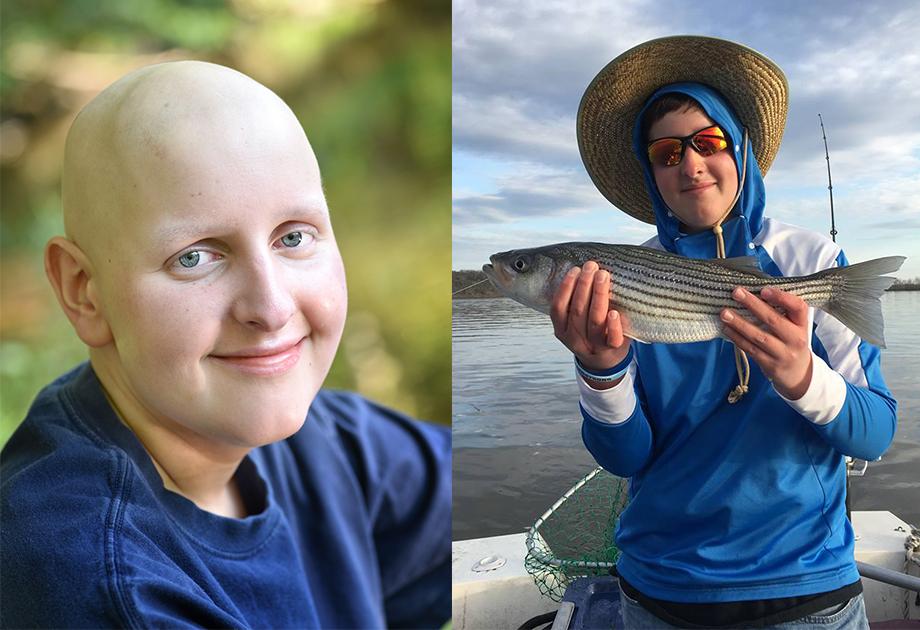 Ambassador Zach fishing