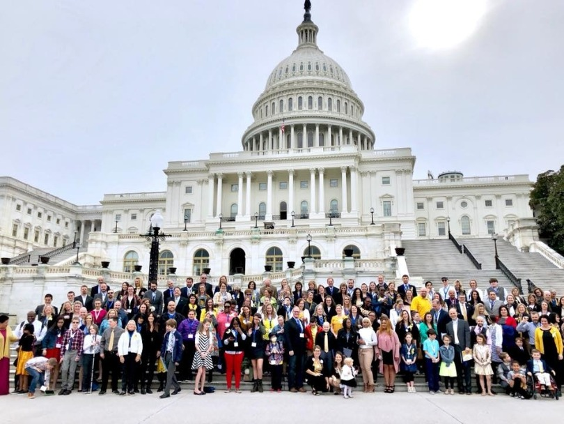 Advocates gather on Capitol Hill for Actions Days
