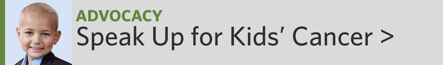 Speak Up for Kids' Cancer