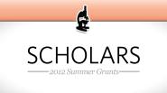 St. Baldrick's 2012 Summer Grants: Scholars