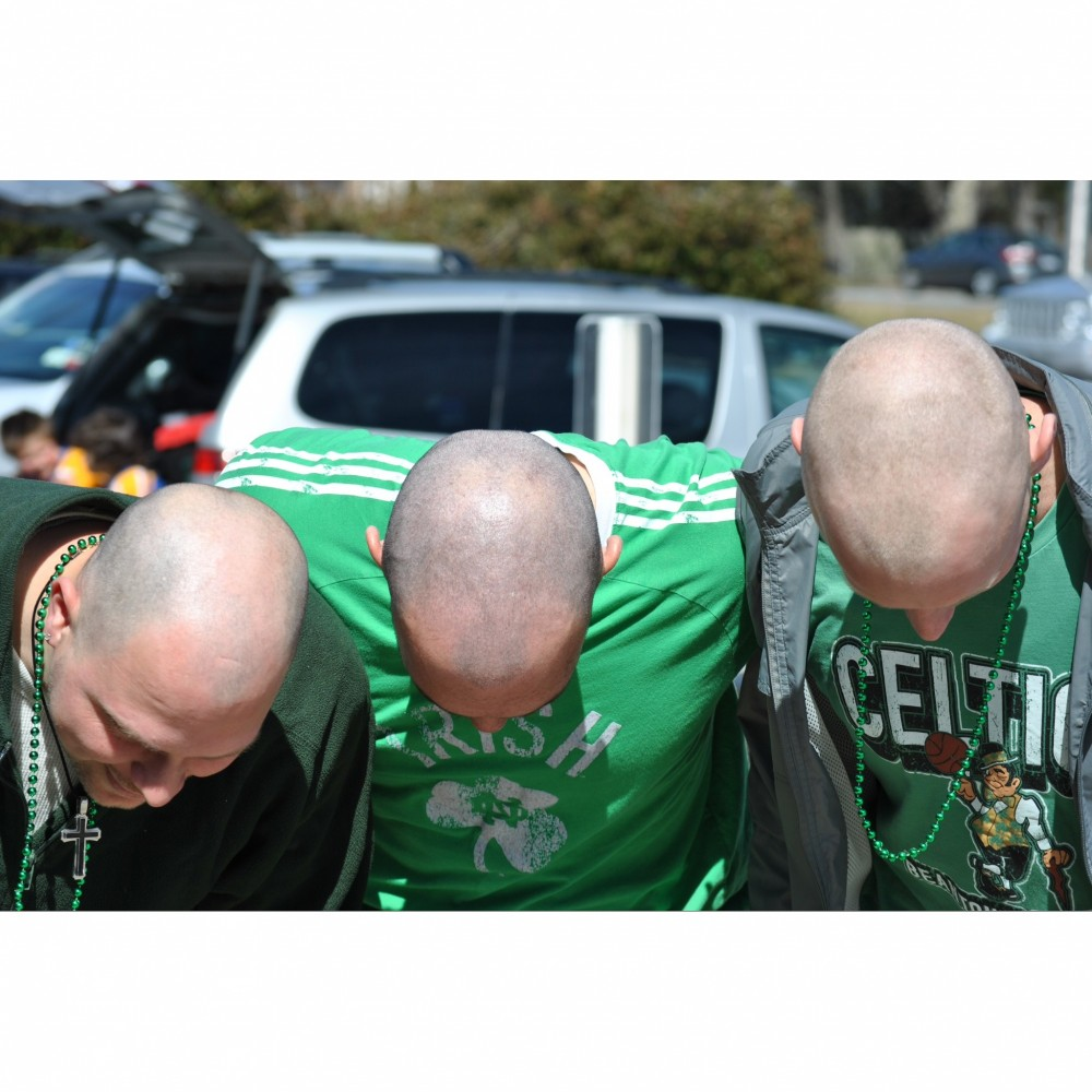 Changing times ale house a st baldrick 39 s event for Hunters garage east northport