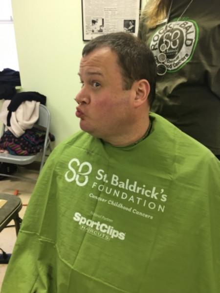 Crazy Head Shaving Event A St Baldricks Event