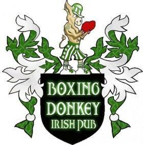 The Boxing Donkey Irish Pub's Logo