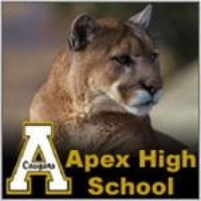 Apex High School's Logo