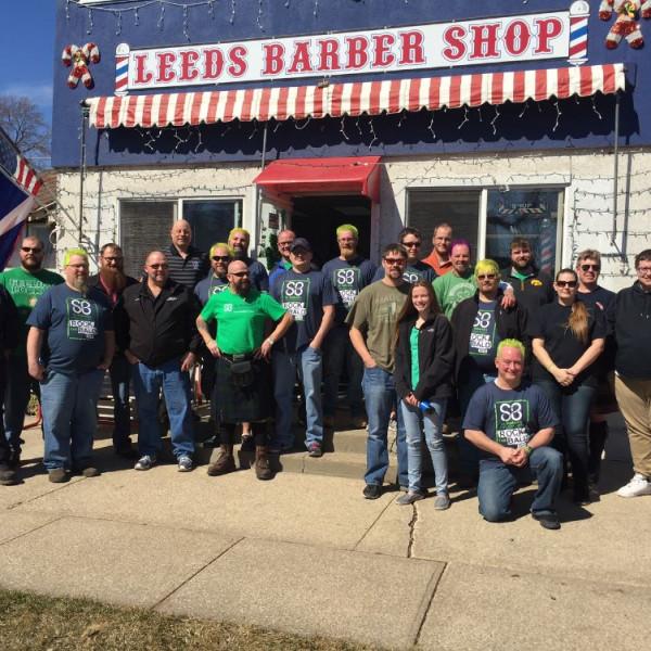 Leeds Barbershop | A St  Baldrick's Event