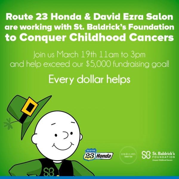 Route 23 honda a st baldrick 39 s event for Rt 23 honda