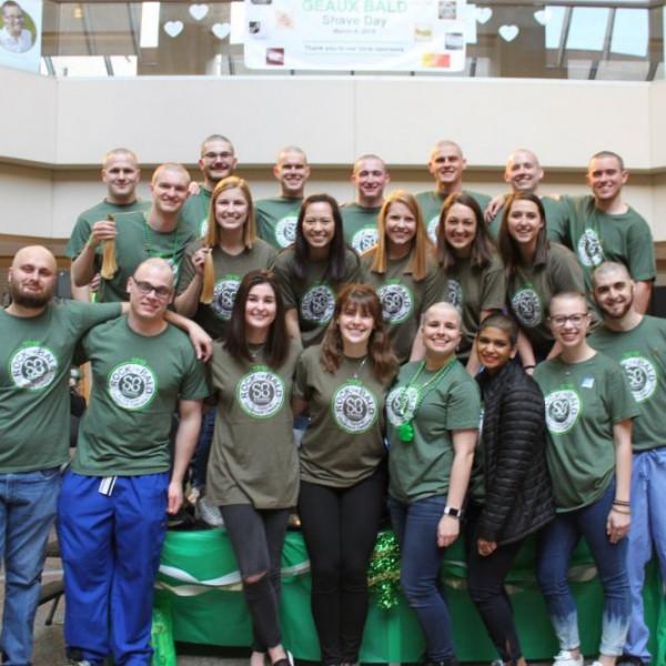 LSU Health Shreveport - Geaux Bald - BRI Atrium | A St