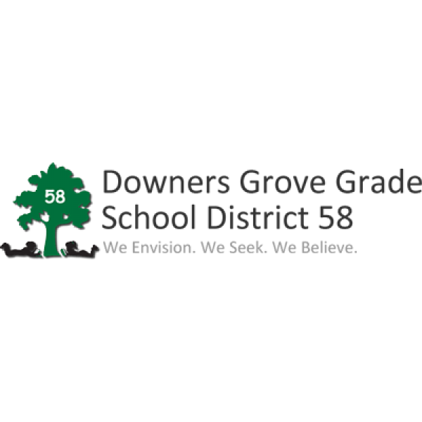 Downers Grove School Dist. 58 Fights Cancer! Fundraiser Logo