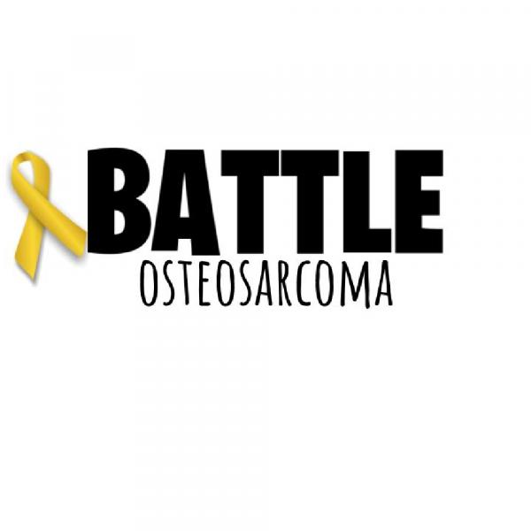 Battle Osteosarcoma Fundraiser Logo