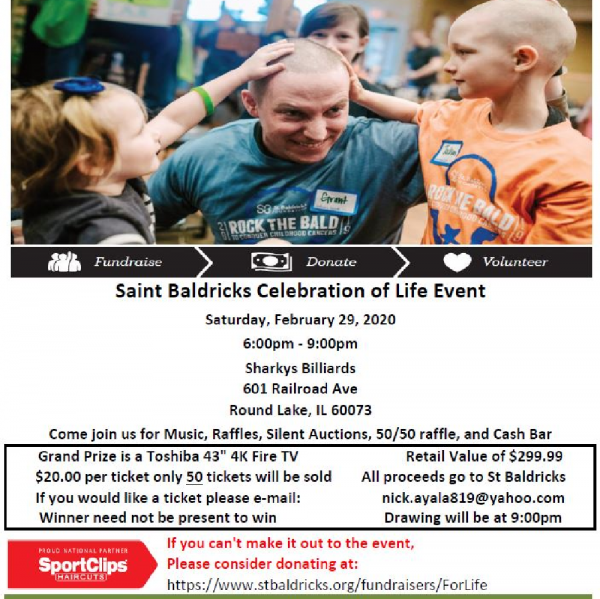 Celebration of Life Fundraiser Logo