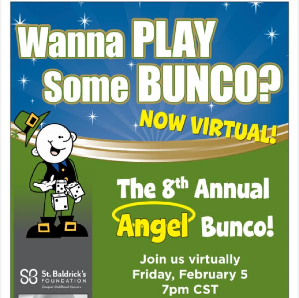 The 8th Annual Angel Bunco Fundraiser Logo