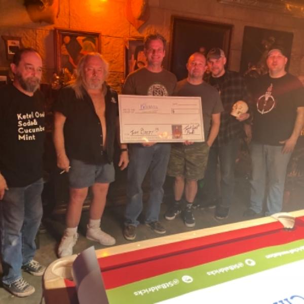 Team Brett A Virtual Concert For a Cause Fundraiser Logo