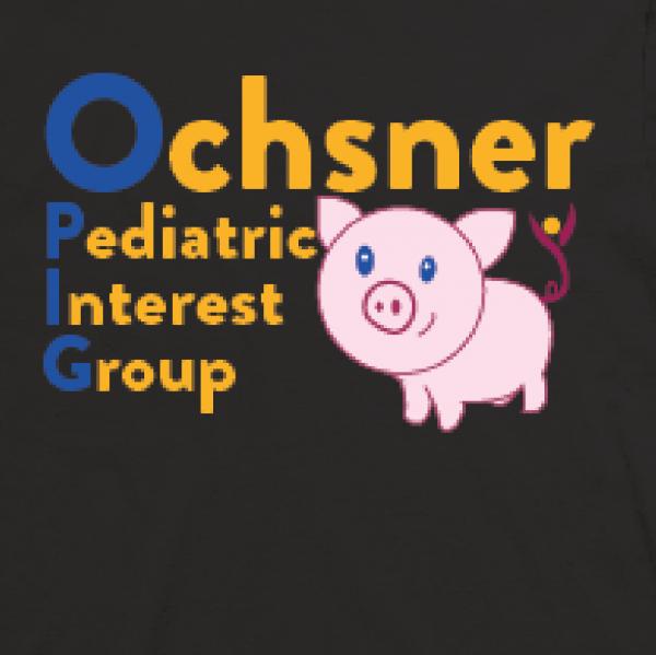 St. Patrick's Day Fundraiser Pediatrics Interest Group Ochsner  Fundraiser Logo