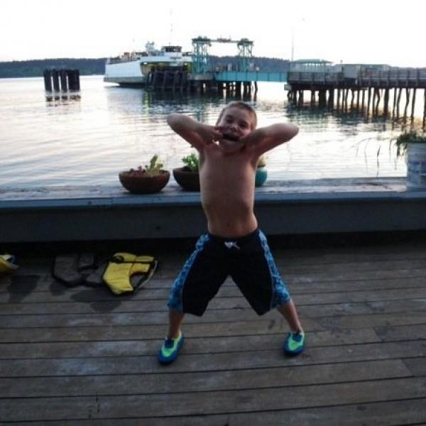 Evan A. Murphy Kid Photo