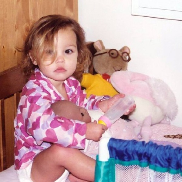 Breanna Thayer Kid Photo