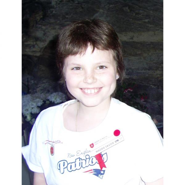 Maddie Savoie Kid Photo