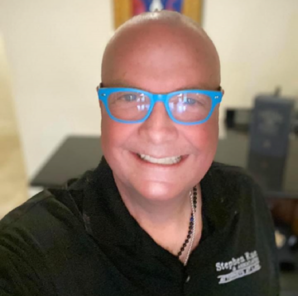 Stephen Rue -  Bald Honoring Children with Cancer After