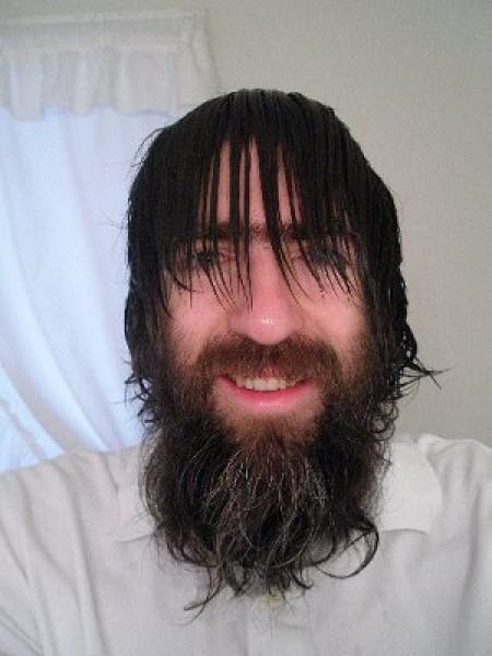 Shave Sasquatch Before