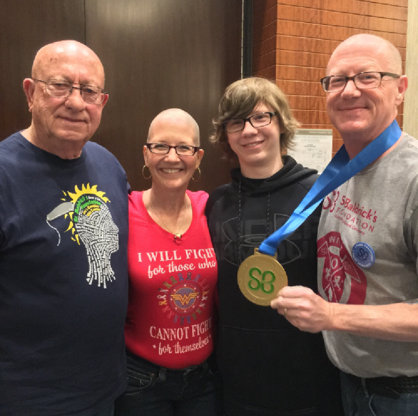 Roy, Linda & David Honor Gramma Sue & Tommy Gosser After
