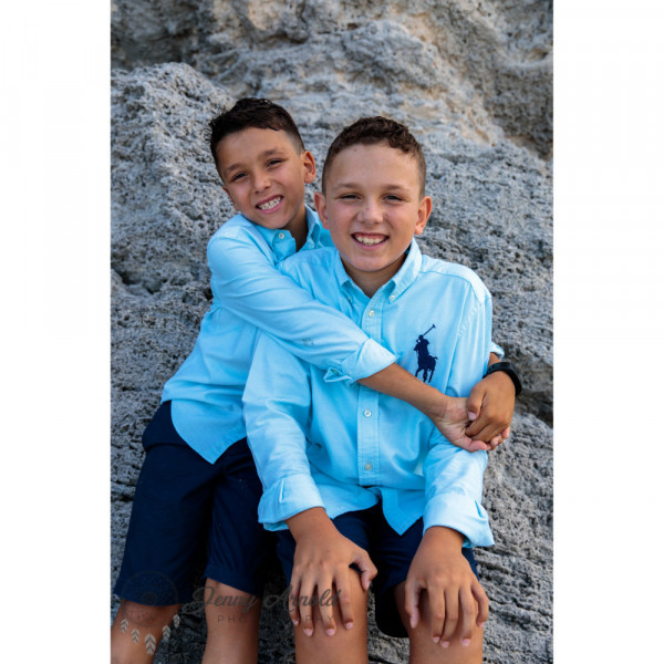 Kyle and Jaxon T. Before