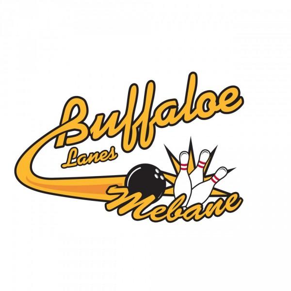 Buffaloe Lanes Mebane Family Entertainment Team Logo