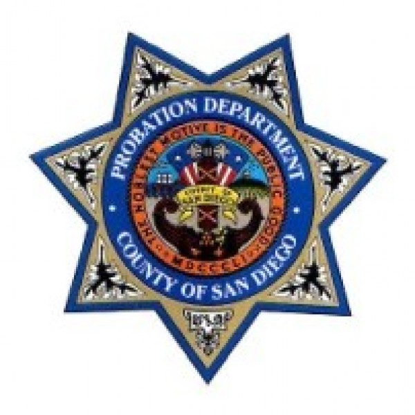 San Diego County Probation Department Team Logo