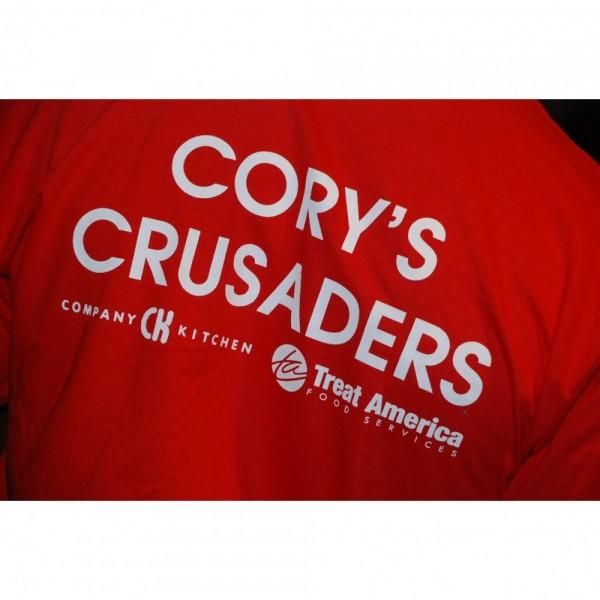 Cory's Crusaders Team Logo