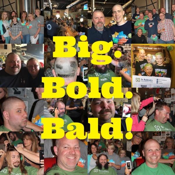 Big. Bold. Bald. Team Logo