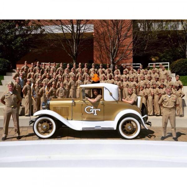 GT Navy ROTC Team Logo