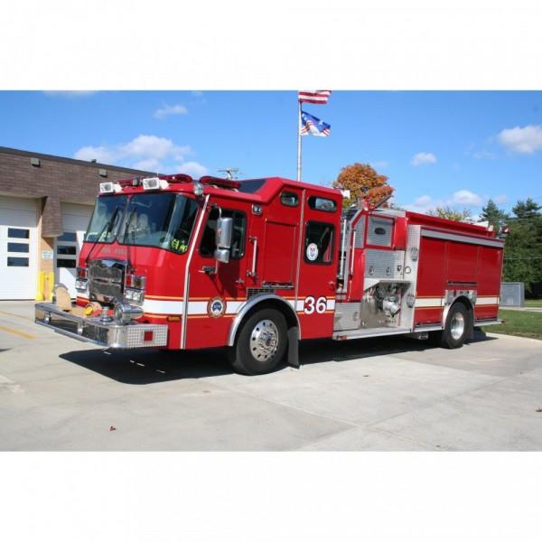 Park Ridge Fire Department Team Logo