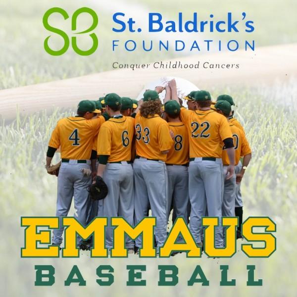 Emmaus Baseball Team Logo