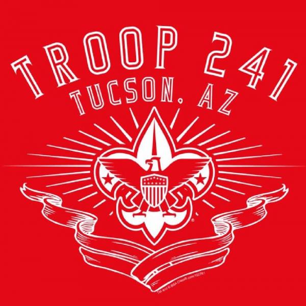 BSA Troop 241 Team Logo