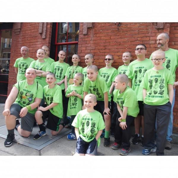 Baldacious Baldies Team Logo