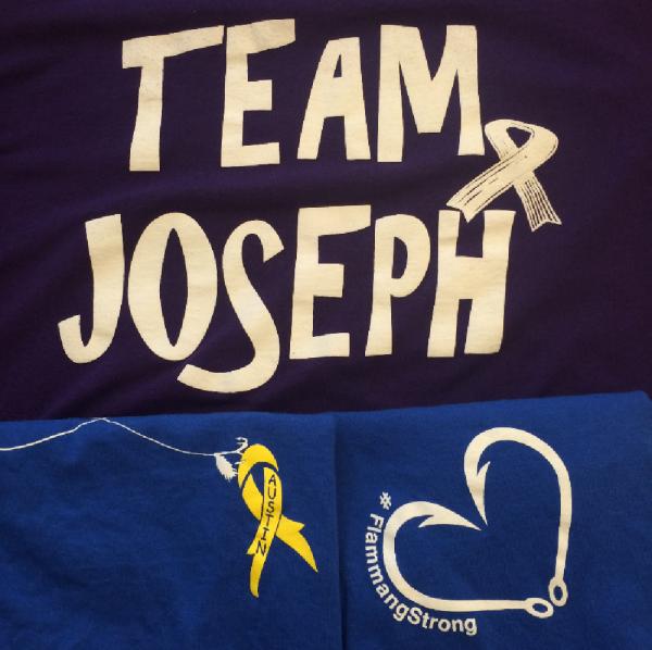 Team Joseph fighting with  Austin F. Team Logo